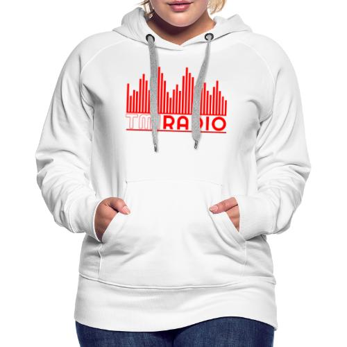 NEW TMI LOGO RED AND WHITE 2000 - Women's Premium Hoodie