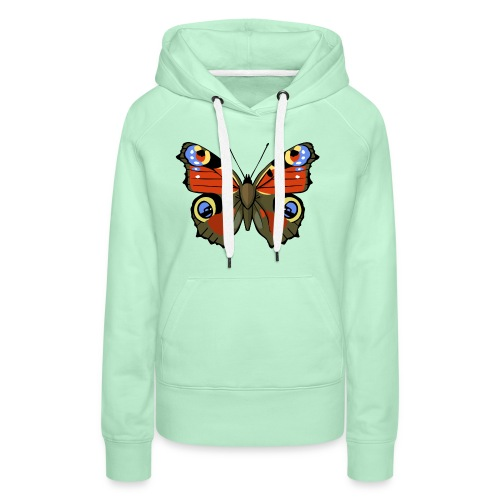 vlinder1_d - Vrouwen Premium hoodie