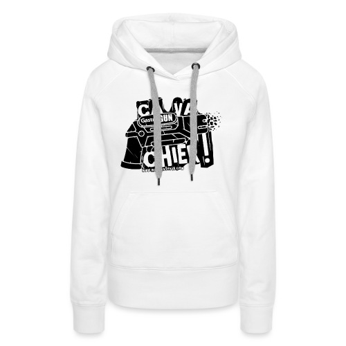 gastrogun - Sweat-shirt à capuche Premium pour femmes