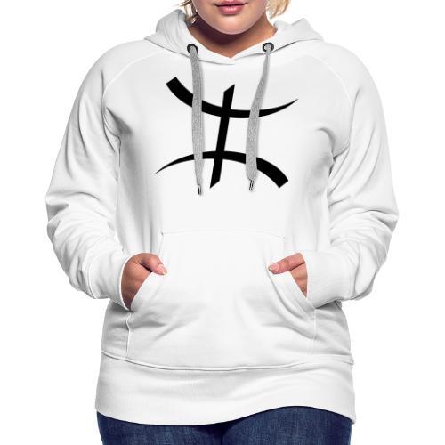 Motif Kabyle - Sweat-shirt à capuche Premium pour femmes