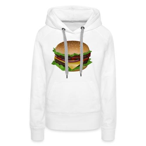Burger - Premiumluvtröja dam