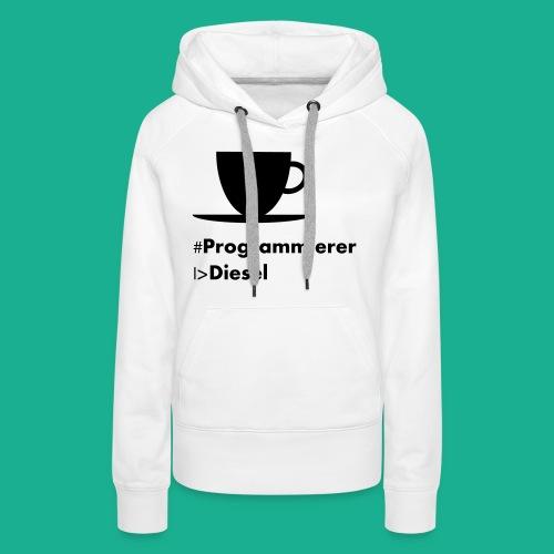 Kaffediesel - Frauen Premium Hoodie