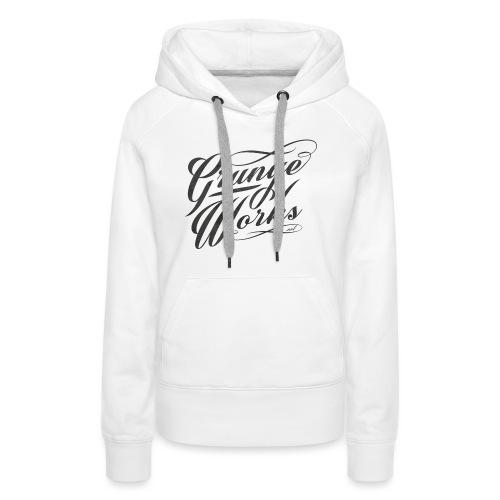 GrungeWorks Basic Women T-shirt - Naisten premium-huppari