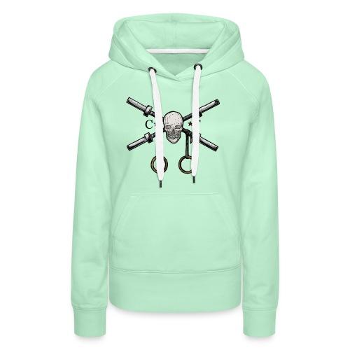 Crossfit Lifter - Sweat-shirt à capuche Premium pour femmes