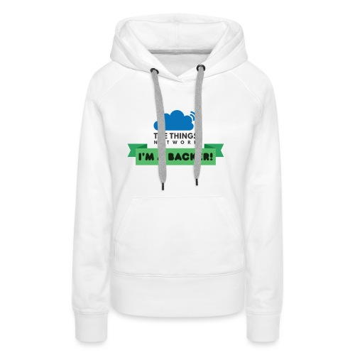The Things Network Backers - Vrouwen Premium hoodie