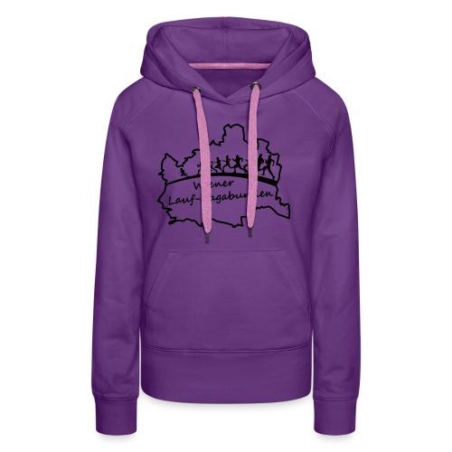 Laufvagabunden T Shirt - Frauen Premium Hoodie