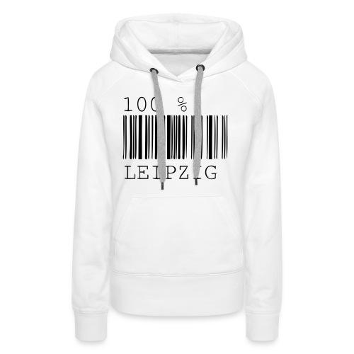 100 % Leipzig - Frauen Premium Hoodie