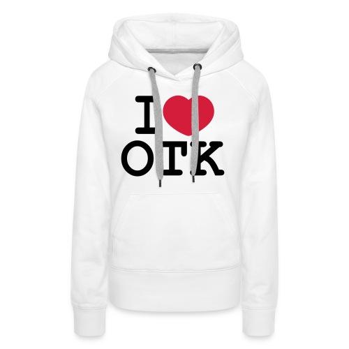I Love Ottakring - Frauen Premium Hoodie