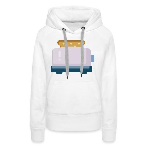 Toaster - Vrouwen Premium hoodie