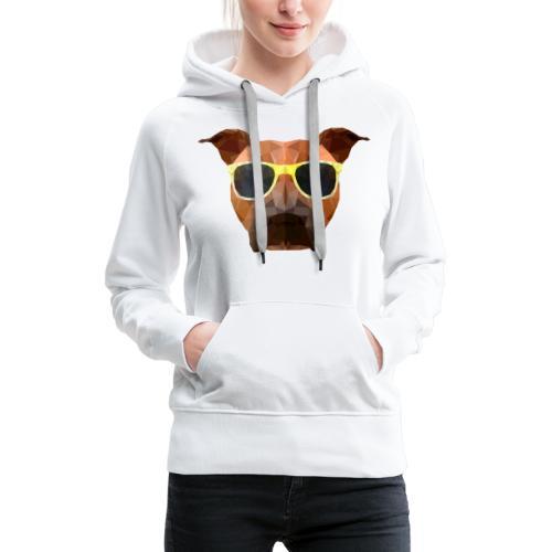 Amy mit Sonnenbrille - Frauen Premium Hoodie