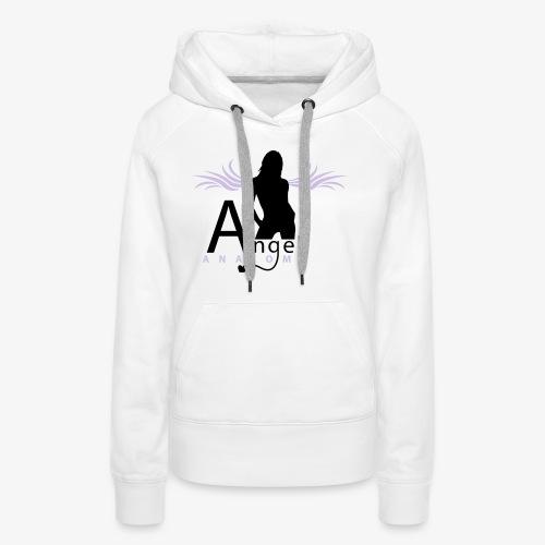 angel anatomy - Sweat-shirt à capuche Premium pour femmes