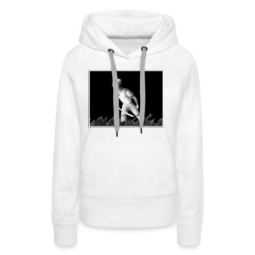 n°1 - Sweat-shirt à capuche Premium pour femmes