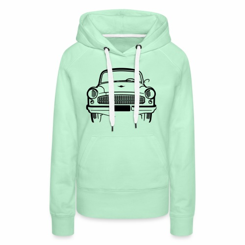 Wartburg 311 front - Women's Premium Hoodie