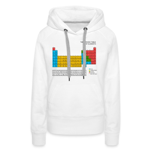 Periodic Table of elements - Women's Premium Hoodie