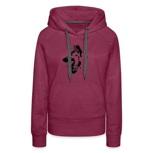 Tête Tervueren - Sweat-shirt à capuche Premium pour femmes