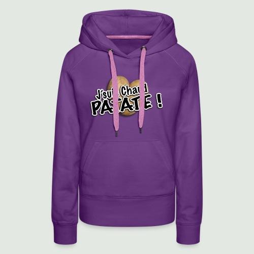 chaud patate - Sweat-shirt à capuche Premium pour femmes