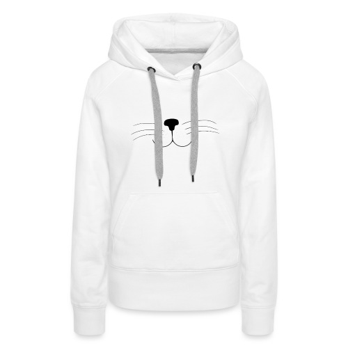 Kat | Vrouwen T-shirt - Vrouwen Premium hoodie
