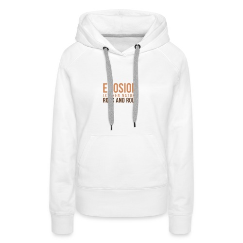 When Nature Rock And Roll - Women's Premium Hoodie