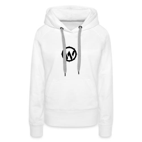 WLYP Blue/White Sports Jacket - Women's Premium Hoodie