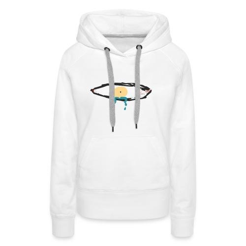 Crying Eye. (Men) - Vrouwen Premium hoodie