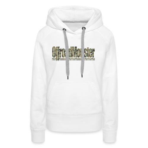 OffroasMonster_Camouflage_T-Shirt - Frauen Premium Hoodie