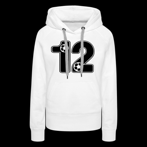 foot numero 12 - Women's Premium Hoodie