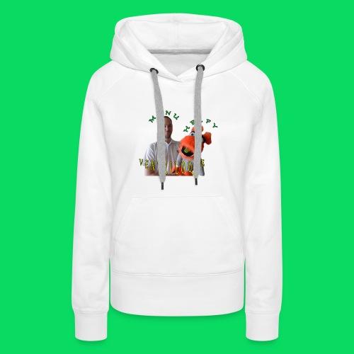 casquette manu et helfy - Sweat-shirt à capuche Premium pour femmes