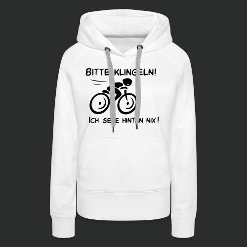 Radfahrer bitte klingeln! - Frauen Premium Hoodie
