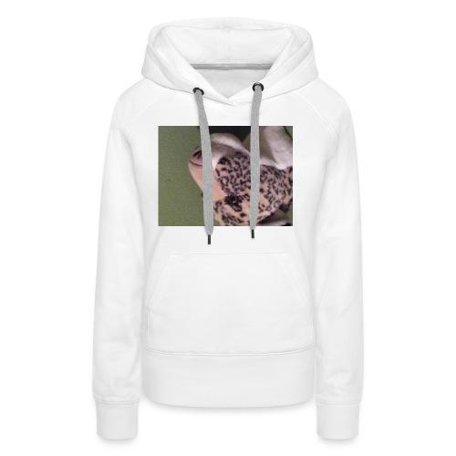Opdekop tijger - Vrouwen Premium hoodie