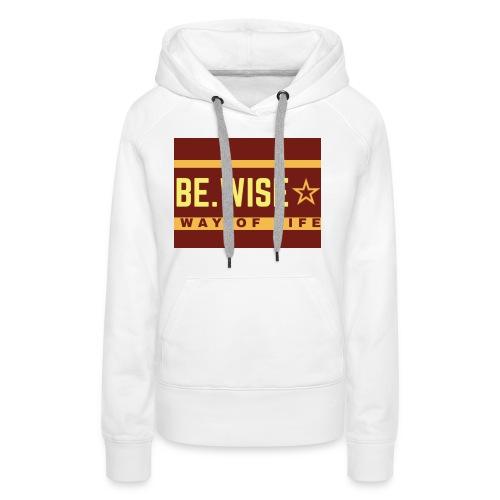 Cool slogan - Sweat-shirt à capuche Premium pour femmes