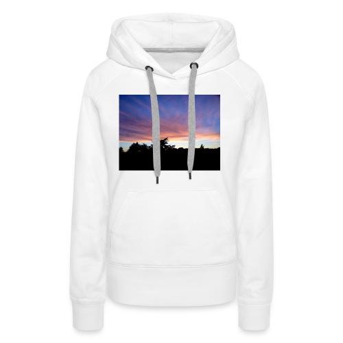 Sunset - Dame Premium hættetrøje