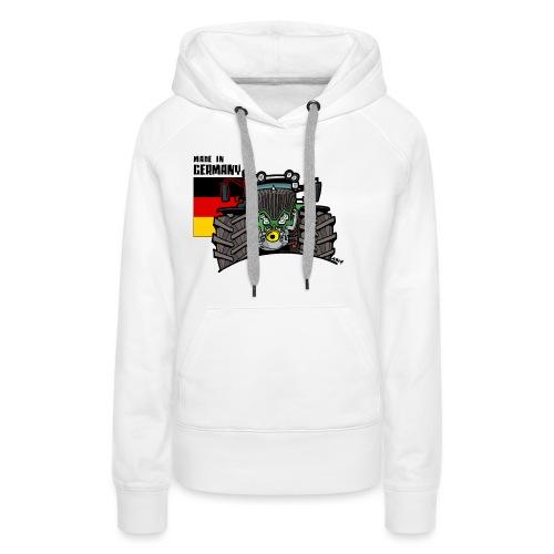 made in germany F - Vrouwen Premium hoodie