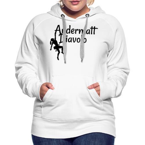 Andermatt Diavolo Uri Geschenkidee - Frauen Premium Hoodie