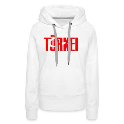 türkei - Frauen Premium Hoodie
