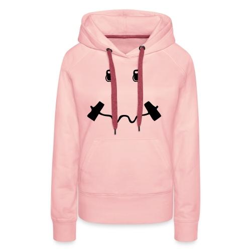 Happy dumb-bell - Vrouwen Premium hoodie