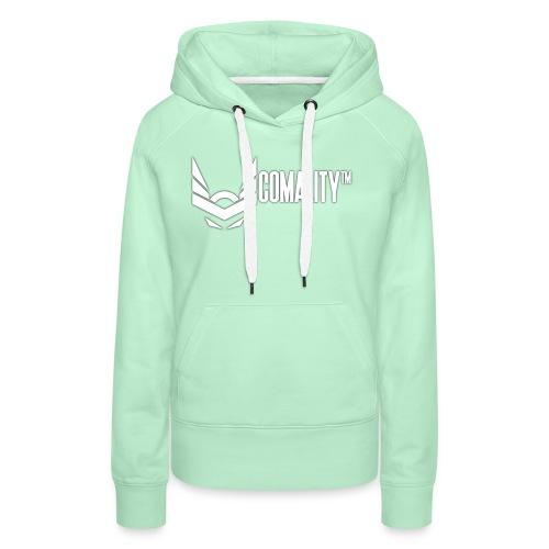 AWESOMECAP | Comality - Vrouwen Premium hoodie