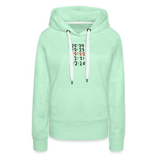 Wacht op de tijd - Vrouwen Premium hoodie