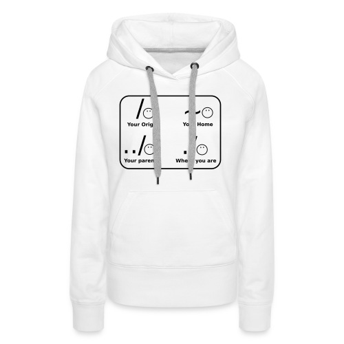(slash_spreadshirt) - Frauen Premium Hoodie