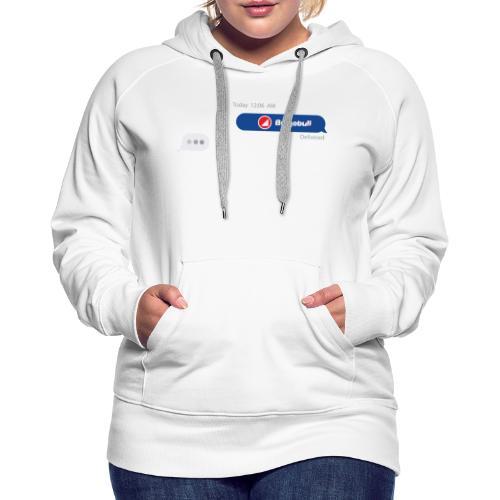 BULGEBULL TEXT - Women's Premium Hoodie