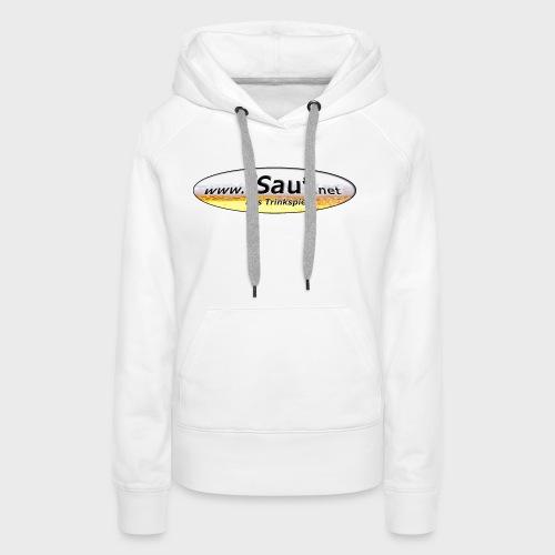 iSauf Logo - Frauen Premium Hoodie