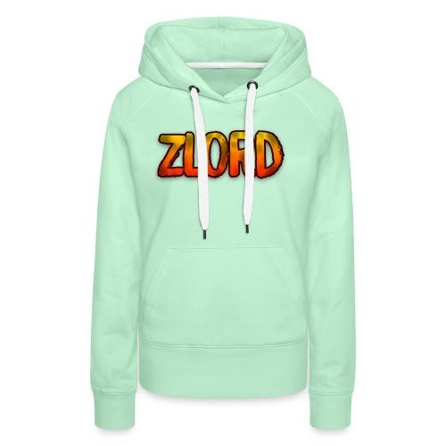 YouTuber: zLord - Felpa con cappuccio premium da donna