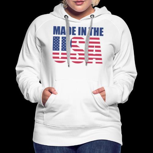 made-in-the-usa - Frauen Premium Hoodie