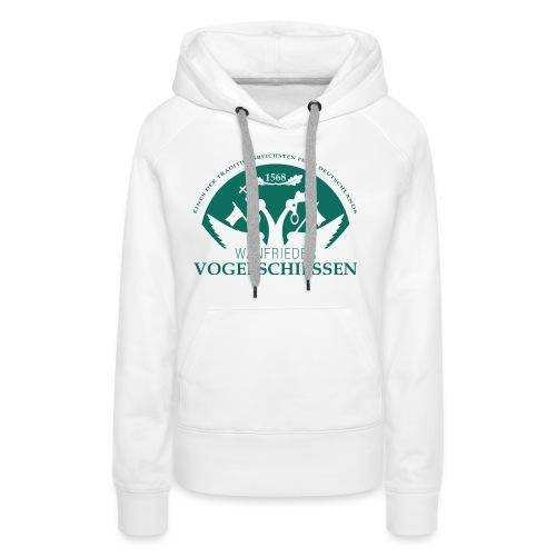 Logo Wanfrieder Vogelschiessen Einfarbig - Frauen Premium Hoodie