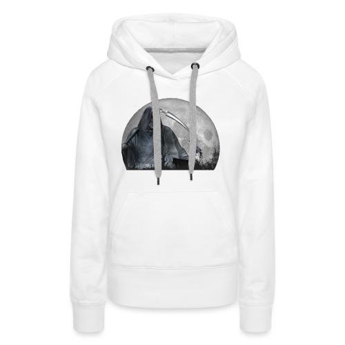ankou - Sweat-shirt à capuche Premium pour femmes