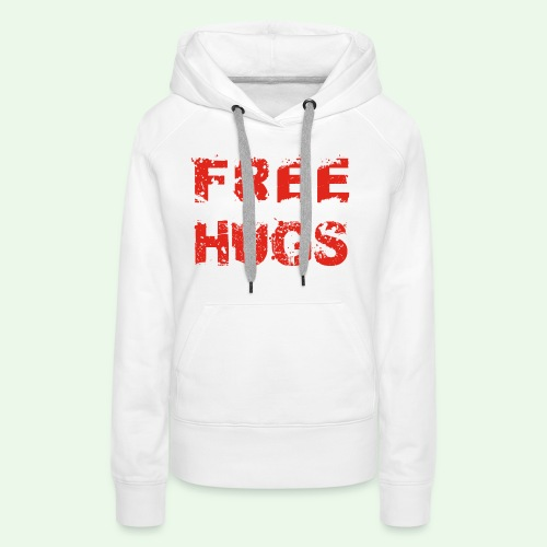 Free Hugs // Flirten // T-Shirt - Frauen Premium Hoodie