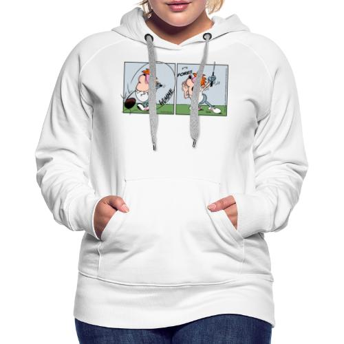 The Golfers Fore - Frauen Premium Hoodie
