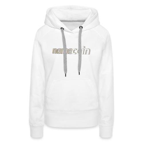 namecoin 3d 5 t - Frauen Premium Hoodie