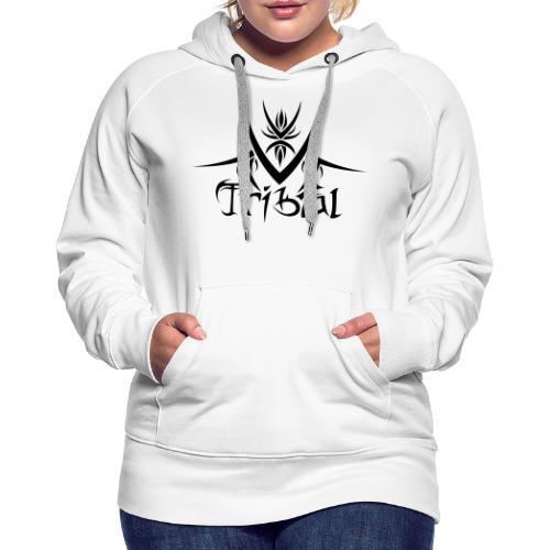 Motif Tribal 1 - Sweat-shirt à capuche Premium pour femmes