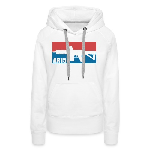 AR15 LEAGUE - Sweat-shirt à capuche Premium pour femmes