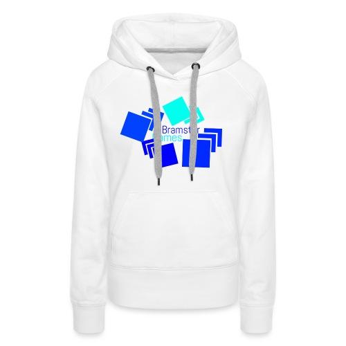 Bramster Games Nieuw Logo - Vrouwen Premium hoodie